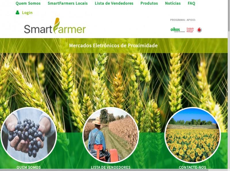 """A Oikos anunciou ontem a disponibilização """"on-line"""" do novo serviço pelo que já nos podemos registar no portal SmartFarmer em Braga"""